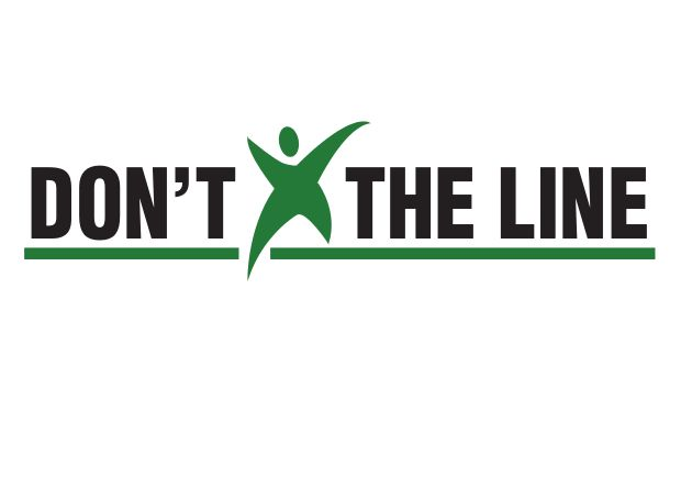 Don't Cross the Line Logo